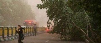 اخطار دوباره هواشناسی راجع به رگبار و رعد و برق و وزش باد شدید لحظهای و سیلابیشدن معابر